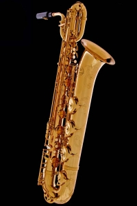 Honey Gold Lacquer Baritone Saxophone