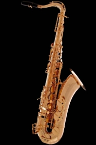 Gold-Plated Vintage Tenor Saxophone