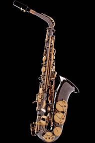 Black Nickel Vintage Alto Saxophone