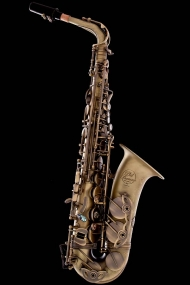 Antique Bronze Vintage Alto Saxophone