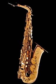 Honey Gold-Lacquer Vintage Alto Saxophone