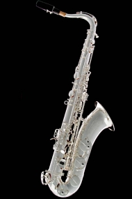 Silver-Plated Vintage Tenor Saxophone