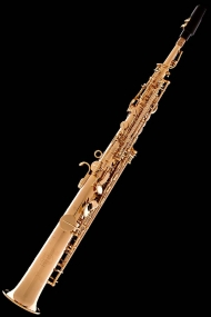Gold-Plated Classic Straight Soprano Saxophone