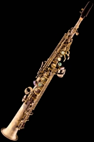 Antique Bronze Classic Straight Soprano Saxophone