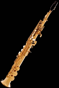 Honey Gold Lacquer Classic Straight Soprano Saxophone