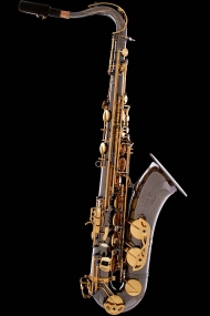 Black Nickel Vintage Tenor Saxophone