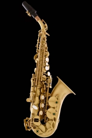 Satin Lacquer Curved Soprano Saxophone