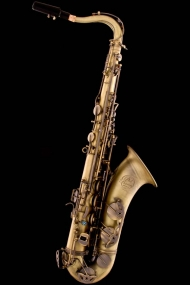 Antique Bronze Vintage Tenor Saxophone