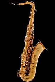 Honey Gold Lacquer Vintage Tenor Saxophone
