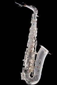 Silver-Plated Classic Alto Saxophone