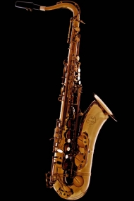 Vintage Gold Lacquered Tenor Saxophone
