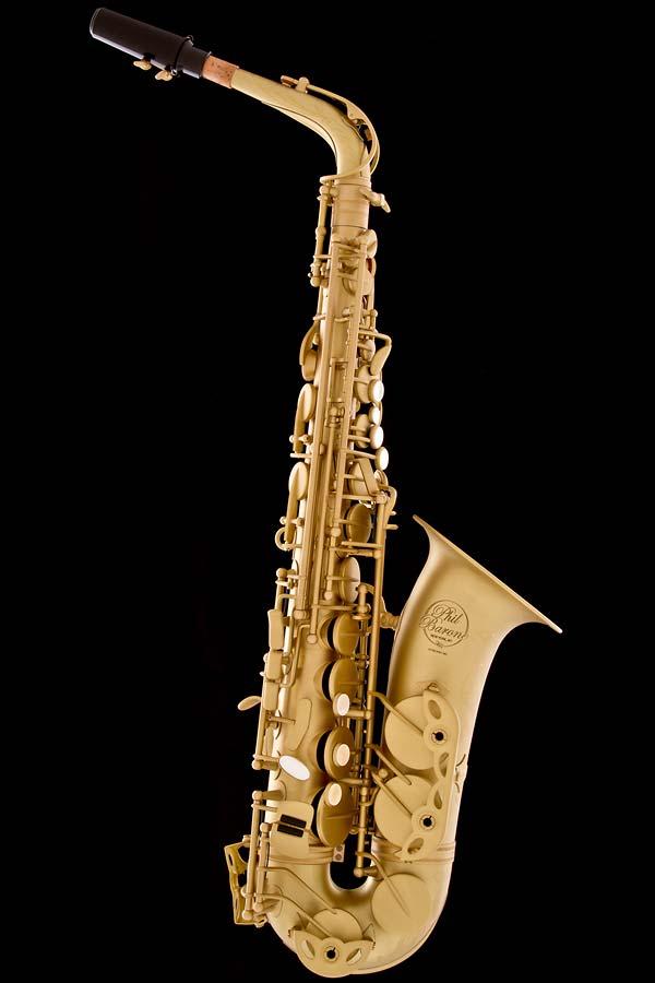 Satin Lacquer Vintage Alto Saxophone - Satin Lacquer Vintage