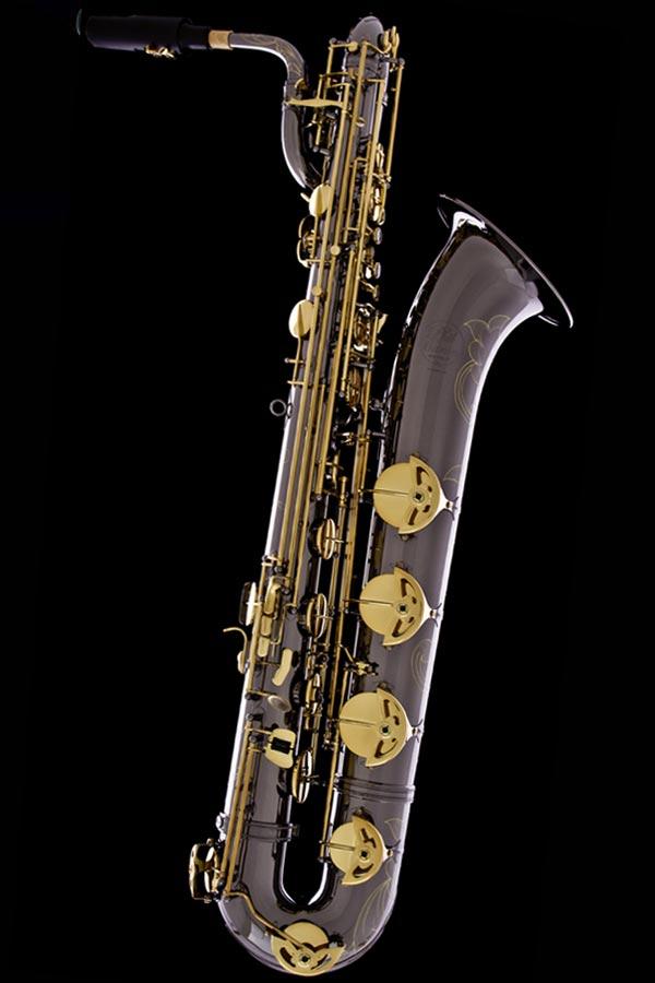 Black nickel classic baritone saxophone black nickel for Classic house track with saxophone